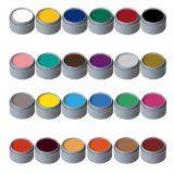 Water Makeup-Palette mit 24 Farben