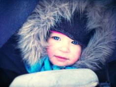 Photography | Hilda, my beloved daughter enjoying finnish winter. Shot with mobile phone.