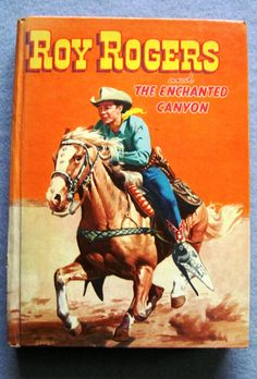 Vintage Book  Roy Rogers and The Enchanted by LuvStephenKing, $12.99