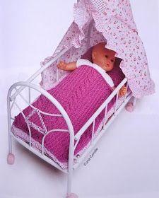 El mundo de los nenucos: Mantita y almohada para los Nenucos