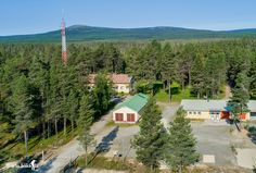 """Old border guard station at the border between Finland and Russia. In the background of Karhutunturi """"mountain in Lapland"""" Border Guard, Cabin, House Styles, Home Decor, Finland, Decoration Home, Cabins, Cottage, Interior Design"""
