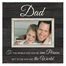 Dad Sunwashed Picture Frame