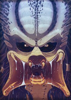 Predator Face by Juggertha on DeviantArt