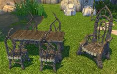 Simsworkshop: Fireflower's Dark Elf Basics set by BigUglyHag • Sims 4 Downloads