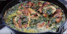 Pollo Toscano con Pasta Aglio - Rezept von Alien-bbq Bbq, Pasta, Parmesan, Quiche, Breakfast, Food, Al Dente, Tuscan Chicken, Stuffed Pasta