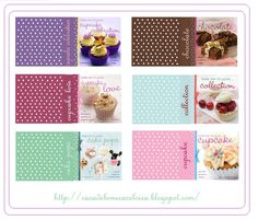 miniature cookbooks - printables