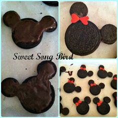 Sweet Song Bird: Minni Mouse Cake Topper Tutorial
