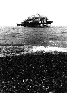 West Pier, Brighton. The Pier closed in 1975 and suffered damage from storms and several fires later in 2003 spelled the end of any renovation plans.
