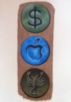 3-dollar,apple,scorpion-oil on paperhttp://youtu.be/do-aFMySFos