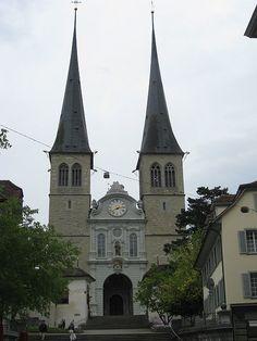 St. Leodegar in Luzern, Switzerland