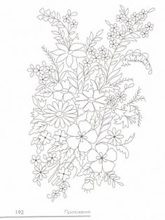 Have Fun with Silk-Ribbon Embroidery - Embroidery Patterns Floral Embroidery Patterns, Silk Ribbon Embroidery, Crewel Embroidery, Hand Embroidery Designs, Quilling Patterns, Embroidery Needles, Colouring Pages, Coloring, Embroidery Techniques
