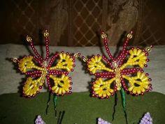 Tembleques de mariposas