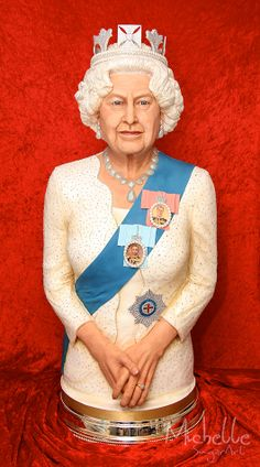Michelle Sugar Art: The Queen Elizabeth II Sugar Sculpture Won Gold at the Culinary Olympics