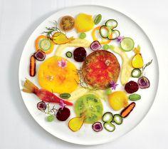 Alain Passard | foto Michael Graydon & Nikole Herriott | Carpaccio de legumes