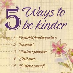 5 Ways to be More Kind | Blue Mountain Blog