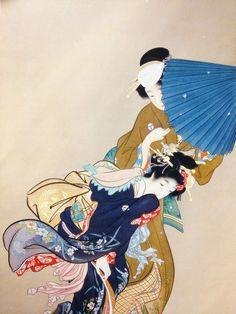 blackcoffeecinnamon:   Uemura Shouen (1875-1949) 上村松園 Flowers  花、1910