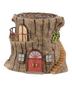 Image result for fairy garden tree stump house clipart