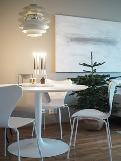 Fritz Hansen Series 7 Mono / Calligaris Planet / Louis Poulsen Snowball / Hygge / Art / Danish / Kubus / Christmas tree