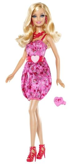 "2010 - Barbie ""I Love Valentines!"" Doll"