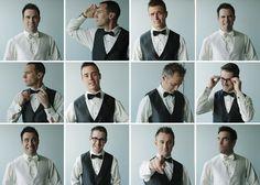 Love this photo montage of the groom and his groomsmen! Photo by Ophelia Photography   via junebugweddings.com