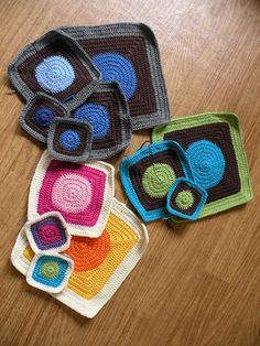 Ravelry: Circles to Squares Afghan pattern by Shiri Mor