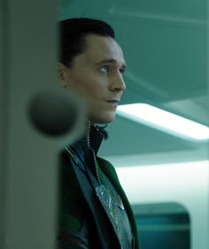 At first I thought Loki was examining his prison. Now, I'm pretty sure he's rolling his eyes.