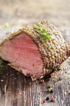 Roast Prime Rib of Beef with Horseradish Crust: this would be awesome with a glass of Chambourcin