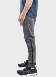 Bonded Sweatpant (Charcoal) | ISAORA