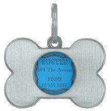 Dog ID Name and Address Design Pet Name Tags