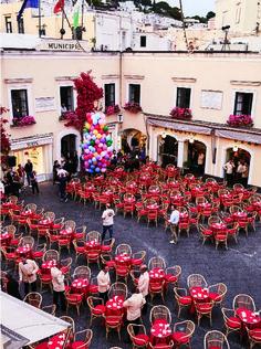 Photos from Giovanna Battaglia's Over-the-Top Wedding to Oscar Engelbe   W Magazine