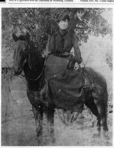 Back in frontier days, Belle Starr was one of the more notorious cattle rustlers of Indian Territory.  Starr (born Myra Maybelle Shirley) was a childhood friend of the infamous train robber Cole Younger, and often let him and his friends Frank and Jesse James hide out on her farm.