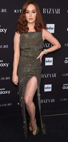 Katy Perry: 2015 Harpers BAZAAR ICONS Event in NYC-06