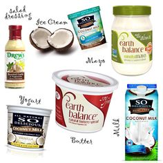 Visibly Moved: My Favorite Dairy Free, Soy Free, Egg Free Products