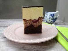 Glutén, tej és tojásmentes, málnás Duna hullám szelet Tej, Milk And Eggs, Vanilla Cake, Cheesecake, Gluten, Pudding, Food, Animal, Cheesecakes