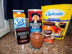 Chocolate Overnight Oatmeal is so easy and delicious.  I love both the dark chocolate and the milk chocolate recipes.  They totally satisfy a chocolate craving, and there's no guilt since it's oatmeal!