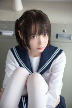画像 School Girl Japan, School Girl Outfit, Japan Girl, Cute Asian Girls, Beautiful Asian Girls, Cute Girls, Cute Kawaii Girl, Kawaii Cosplay, Cute Japanese Girl