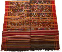 Image of Moroccan Multi Color Throw