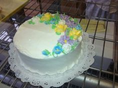 It was their White Cake that always did me in and ever since I was a little girl, I have longed for one more piece. The White Cake was at all birthday parties and weddings. Name an occasion and Hough delivered