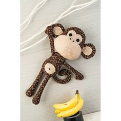 Patrick the Monkey Toy Sewing Pattern Download - Toy Patterns to Download - PDF Craft Pattern Downloads - Craft eBooks and Downloads