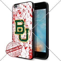WADE CASE Baylor Bears Logo NCAA Cool Apple iPhone6 6S Case #1040 Black Smartphone Case Cover Collector TPU Rubber [Blood] WADE CASE http://www.amazon.com/dp/B017J7KZO2/ref=cm_sw_r_pi_dp_X00vwb0M8BMTB