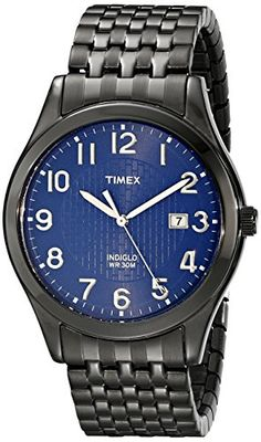 Timex Men's T2P2039J Elevated Classics Dress Black-Plated Stainless Steel Watch With Expansion Band Timex http://www.amazon.com/dp/B00D3DUUO2/ref=cm_sw_r_pi_dp_I5KUwb0ATR82Z