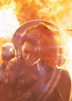 The Battle for New York City [Natasha Romanoff / Black Widow & Steve Rogers / Captain America] Univers Marvel, Natasha Romanoff, Stan Lee, Black Widow, Buffy, Marvel Heroes, Marvel Avengers, Loki, Captain America