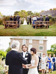 An Autumn Wedding in the English Countryside: Betsy + Patrick