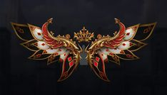 Sword Drawing, Wings Drawing, New Background Images, Editing Background, Anime Weapons, Fantasy Weapons, Magic Wings, Dark Wings, Game Logo Design