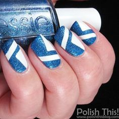 Happy Independence Day for the 99 year old Finland!  This is actually a mani that I did a year ago but I thought it would suit this day perfectly  #Finland #independanceday #Suomi #itsenäisyyspäivä #Suomi99