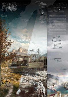 Unbelievable Modern Architecture Designs – My Life Spot Landscape Architecture Portfolio, Architecture Board, Architecture Graphics, Architecture Drawings, Architecture Design, Presentation Board Design, Architecture Presentation Board, Architectural Presentation, Landscape Plans