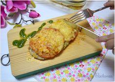 Chismes y Cacharros: Pollo Caprese con Pesto