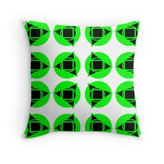 Green & black pattern
