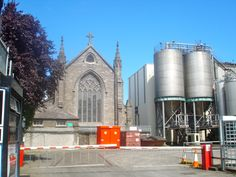 Guinness Brewery with a catholic church on the grounds. Ironic or smart?