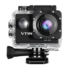 Action Camera, VicTsing Waterproof Camera 1080P 12MP Sport Camera Action Cam with Full HD 2.0 Inch Display 170°Wide Angle Lens 900 mAh Rechargeble Battery + Mounting Accessories Kits for Bike Motorcycle Surfing Diving Swimming Skiing etc- Black